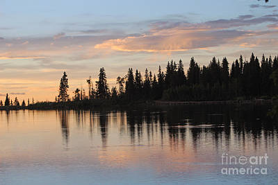 Photograph - Sunset Silhouette At Cottonwood Lake Colorado by Dale Jackson