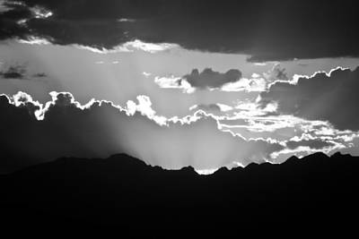 Photograph - Sunset Silhouette by Colleen Coccia