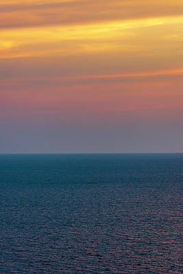 Photograph - Sunset Sky And Sea by Keith Smith