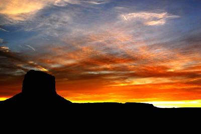 Photograph - Sunset Sky by Harry Spitz