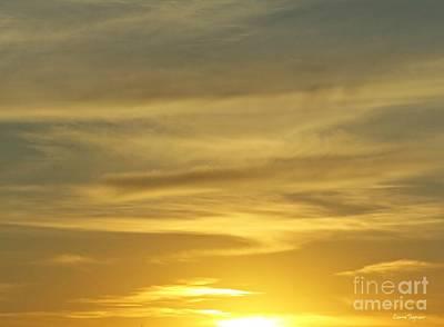 Photograph - Sunset Sky by Leanne Seymour