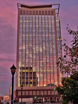 Photograph - Sunset Skyscraper by Farol Tomson