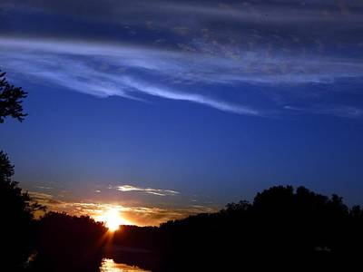 Photograph - Sunset Slough by Wild Thing