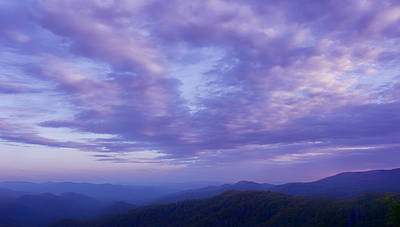 Photograph - Sunset - Smoky Mountains  by Nikolyn McDonald