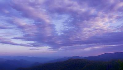 Photograph - Sunset - Smoky Mountains  by Nikolyn McDonald