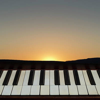 Photograph - Sunset Sonata by David Gordon