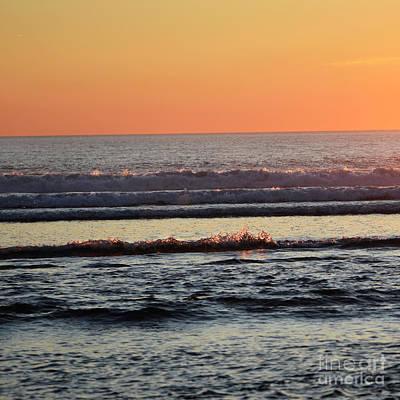 Photograph - Sunset Splash by Denise Bruchman