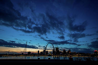 Photograph - Sunset St. Louis IIi by Matthew Chapman