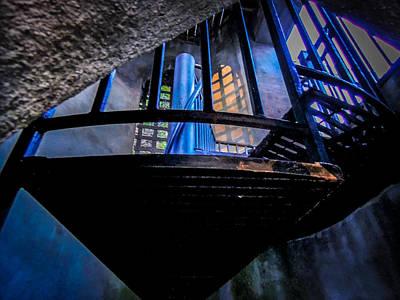 Photograph - Sunset Staircase by Glenn Feron