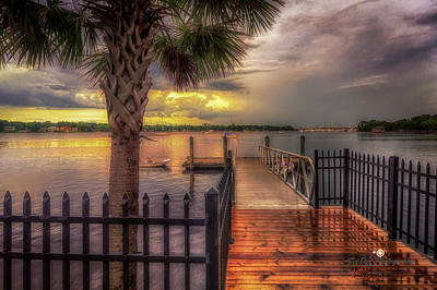 Photograph - Sunset Storm by Joedes Photography