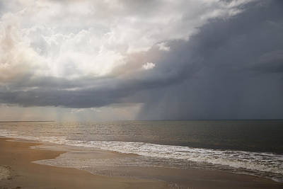 Photograph - Beach Storm by Sally Simon