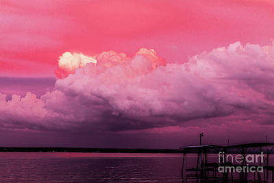 Photograph - Sunset Storm by William Norton