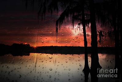 Photograph - Sunset Storms by Rick Lipscomb