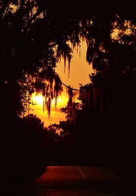 Photograph - Sunset Street by rd Erickson