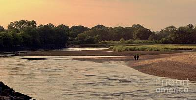 Photograph - Sunset Stroll In The Marshes by Margie Avellino
