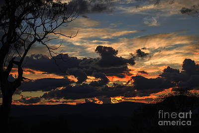 Photograph - Sunset Study 3 by Angela DeFrias