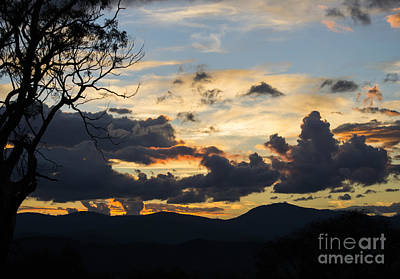 Photograph - Sunset Study 4 by Angela DeFrias