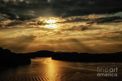 Photograph - Sunset Summersville Lake by Thomas R Fletcher
