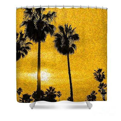 Photograph - Sunset Sunrise Shower Curtain by Kip Krause