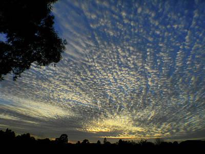 Photograph - Sunset Swirl by Mark Blauhoefer