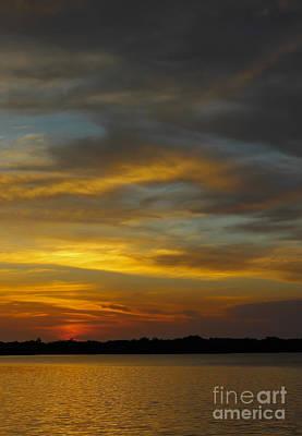 Photograph - Sunset Swirls by Nancy Yuskaitis
