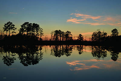 Photograph - Sunset Symmetry by Dana Sohr