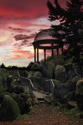 Photograph - Sunset Temple by Jessica Jenney