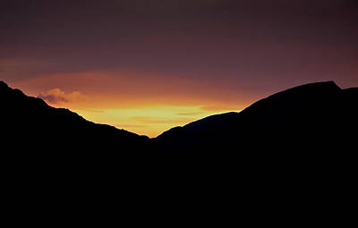 Photograph - Sunset Through The Gap by Alan Campbell