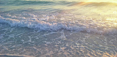 Photograph - Sunset Tide by Ginny Schmidt