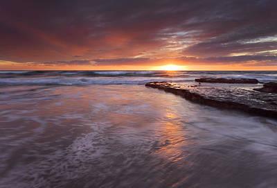 Sunset Tides Original by Mike  Dawson
