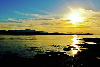 Photograph - Sunset Tip Beach Comber Beach 3 by Brian Sereda