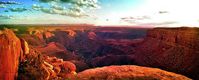 Photograph - Sunset Tour Valley Of The Gods Utah Pan 09 by Thomas Woolworth