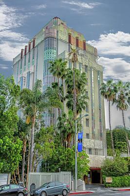 Photograph - Sunset Tower Hotel by Robert Hebert