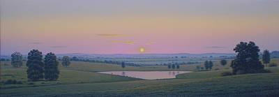 Painting - Sunset by Tuco Amalfi
