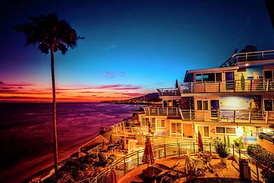 Photograph - Sunset Twilight At The Laguna Riviera by Amyn Nasser