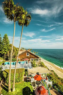 Photograph - Sunset Twilight Laguna Riviera Beach Resort by Amyn Nasser