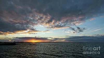 Photograph - Sunset Under A Stormy Sky by Pablo Avanzini