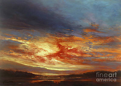 Painting - Sunset by Valerie Travers