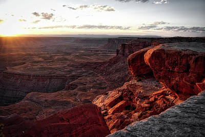 Photograph - Sunset Valley Of The Gods Utah 09 by Thomas Woolworth
