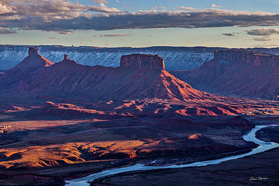 Priests Photograph - Sunset View From Omg Point by Dan Norris