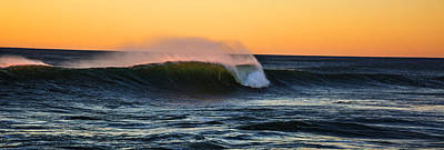 Sunset Wave Art Print by Pelo Blanco Photo