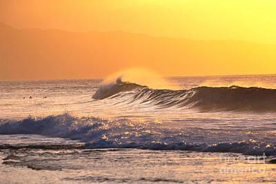 Sunset Wave Art Print by Vince Cavataio - Printscapes