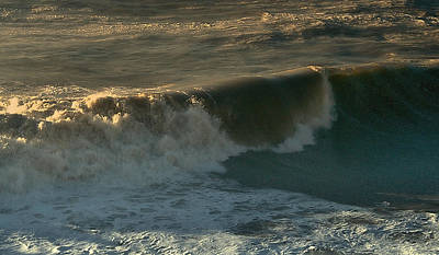 Photograph - Sunset Waves by Michael Gordon