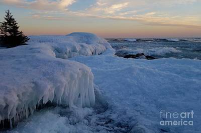 Photograph - Sunset Waves by Sandra Updyke