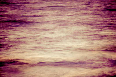 Photograph - Sunset Waves Twilight by Amyn Nasser