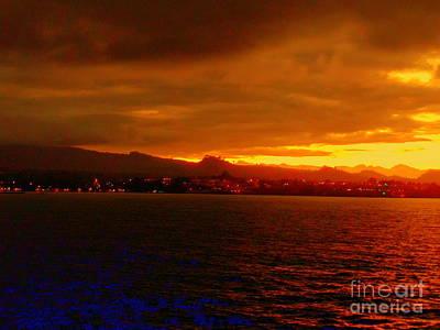 Photograph - Sunset West Africa by John Potts