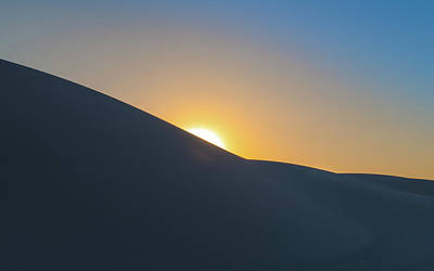 Sunset - White Sands Art Print by Joseph Smith