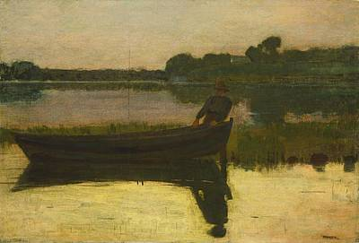 Sunset - Winslow Homer Art Print by PaintingAssociates