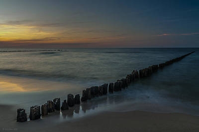 Photograph - Sunset Zen Mood Seascape by Julis Simo
