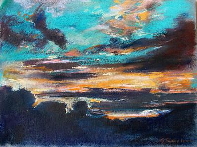 Pastel - Sunset by Zolita Sverdlove